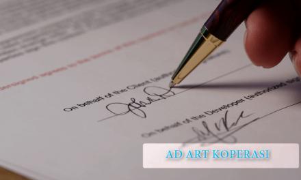 Contoh AD ART Koperasi