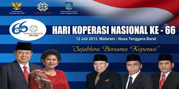 Catatan Hari Koperasi Indonesia