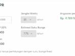 Simulai KPR untuk koperasi perumahan Indonesia