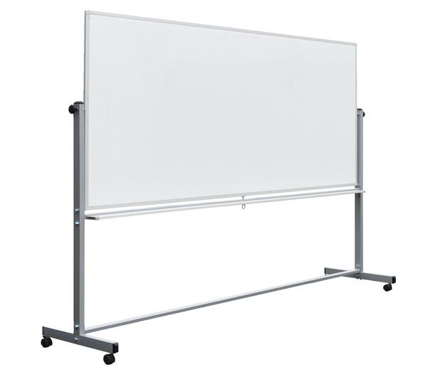 Whiteboard Dua Sisi Standar Dan magnetik